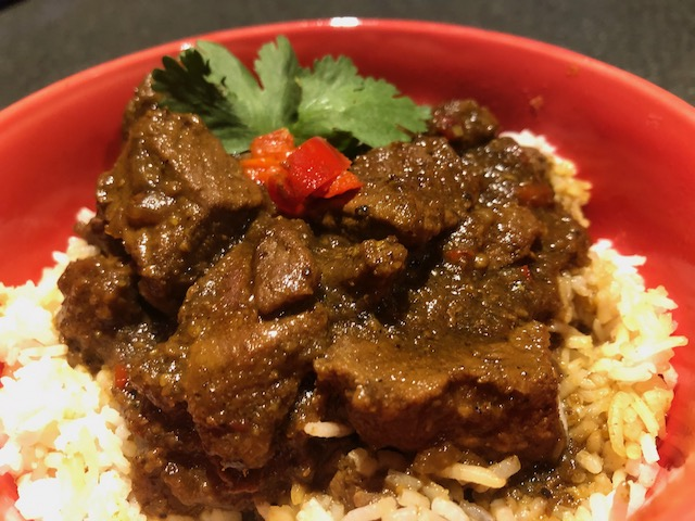 Sweet and Spicy Indonesian Lamb