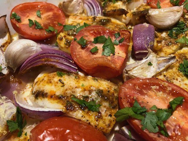 Spanish Baked Fish recipe